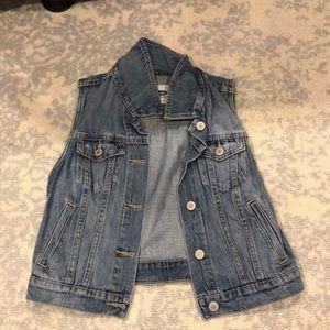 Cut off Jean jacket